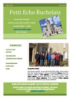 Petit Echo Ruchelais Juillet 2020